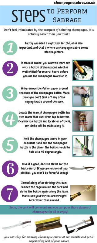 Simple Steps to Perform Sabrage