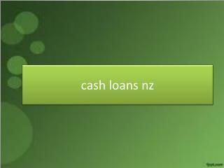 cash loans nz