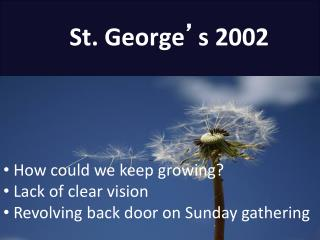 St George's Deal - Mission-Shaped Communities - parts 5 to 9