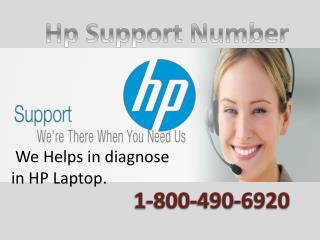 Get free diagnosis for HP issue at HP support number @1-800-490-6920
