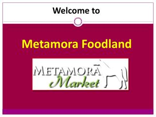 Professional Bakery in Metamora, Michigan | Metamora Foodland