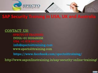 SAP SECURITY online training |SAP SECURITY fastrack online training classes
