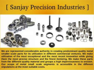 threaded component manufacturers