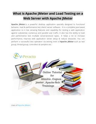 Jmeter Training Online | Apache Jmeter Online Training | Online Jmeter Tutorial