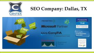 SEO Company: Dallas, TX