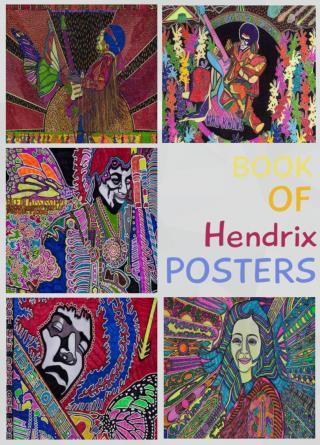 Jimi Hendrix Psychedelic Art