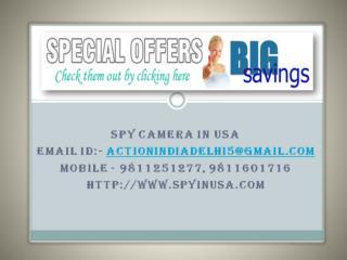Best Spy Camera in USA