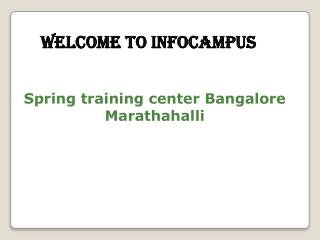 Spring training institute in Bangalore
