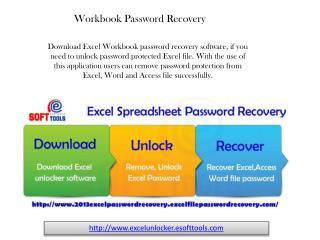 Workbook Password Recovery