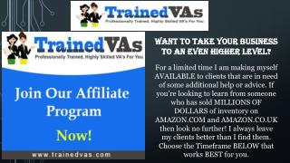 This can be time consuming to finally find the right VA for you and your business.