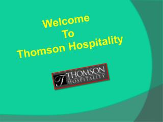 Custom Furniture Manufacturers in Florida | Thomson Hospitality