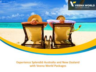 Australia New Zealand Holiday Tours Packages With Veena World