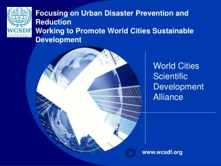 World Cities Scientific Development Alliance