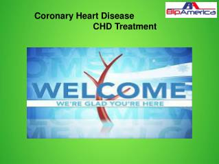 Coronary Heart Disease CHD Treatment