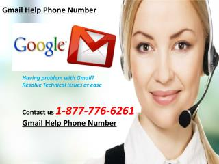 Gmail Help Phone Number 1-877-776-6261 Toll-Free