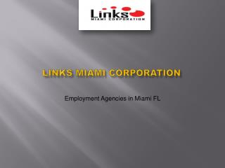 Miami Employment Agency