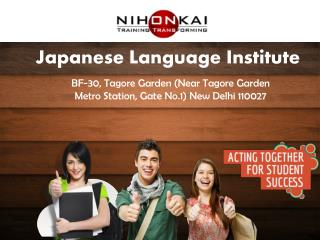 Japanese Language Institute For Sure Success