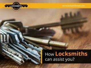 Ways in which Locksmiths can help