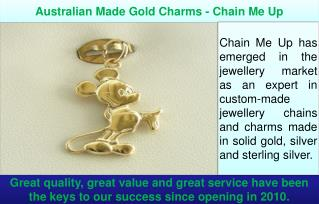 Australian Made Gold Charms