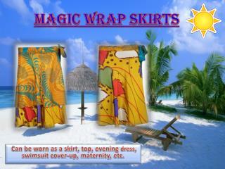 Magic Wrap Skirts