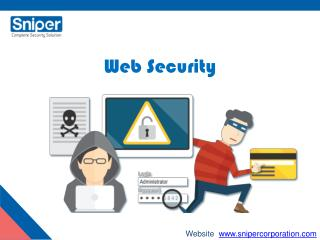 Web security - Sniper Corporation