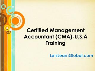 CMA USA Online Training in Hyderabad, CMA USA Online Training Classes, CMA USA Online Training Institutes Hyderabad, CMA