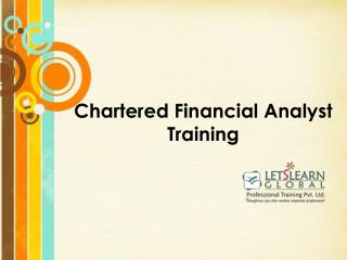 CFA Online Training in Hyderabad, CFA Online Training Classes, CFA Online Training Institutes Hyderabad, CFA Coaching