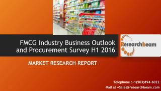 FMCG Industry Business Outlook and Procurement Survey H1 2016