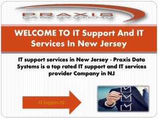 IT services New Jersey