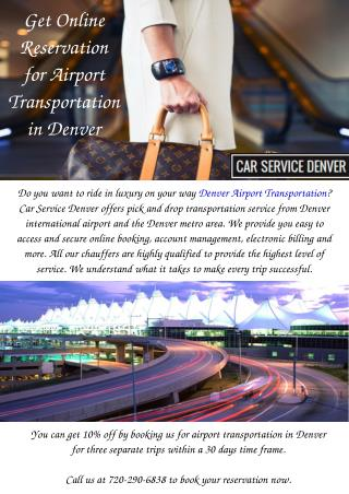 Denver Airport Transportation