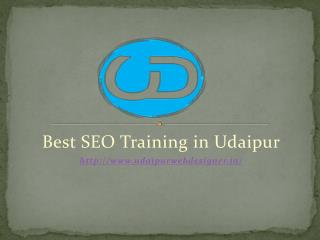 Best SEO Training in Udaipur