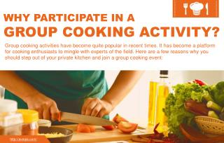 The Importance of Group Cooking Activity