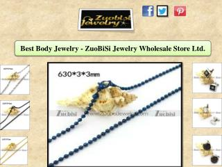 Best Body Jewelry - ZuoBiSi Jewelry Wholesale Store Ltd.