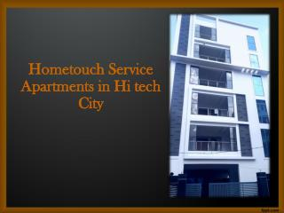 Serviced Apartments near Hitec City Hyderabad, Furnished guest houses near Hiteccity Hyderabad, Guest Houses in Hiteccit