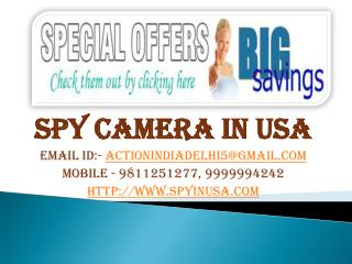 Spy Devices Dealers USA