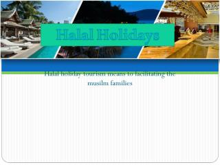 Muslim holiday packages 2016