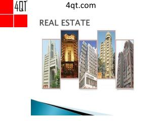 Top Real Estate Erp Developers Software - 4qt.com