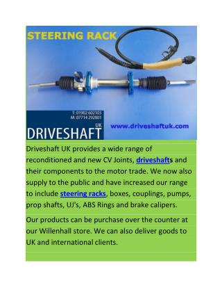 Steering Rack UK