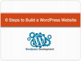 6 Steps to Build a WordPress Business Website