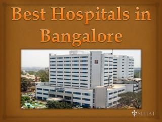 Best Hospitals in Bangalore | Sehat.com
