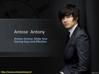 Anthose Anthony | Antose Antony