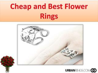 Cheap and Best Flower Rings