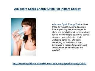 Advocare Spark Energy Drink For Instant Energy