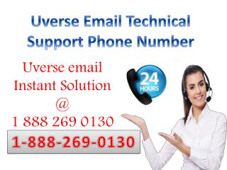 1-888-269-0130 Uverse Email Helpline Toll free Phone Number
