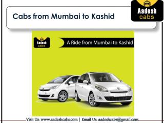 Cabs from Mumbai to Kashid | Mumbai to Kashid Taxi Service | Aadesh Cabs