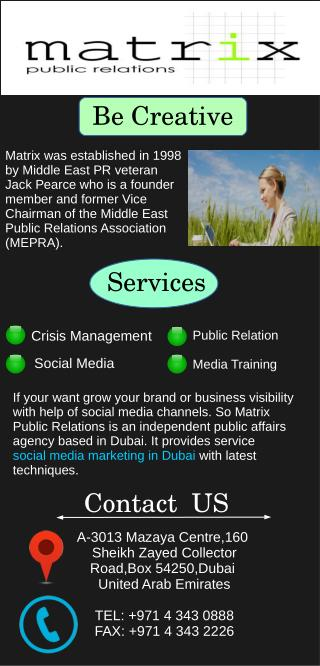 Best Social Media Management Marketing Service Dubai