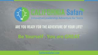 Be Yourself - You're Great | Stanford University Tour | Learn Silicon Valley Innovation