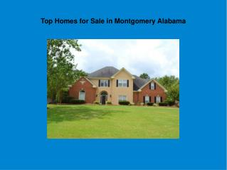 Beautiful New Homes Montgomery Alabama