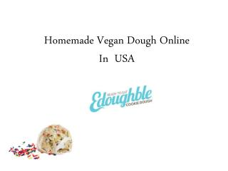 Homemade Vegan Dough OnlineIn  USA