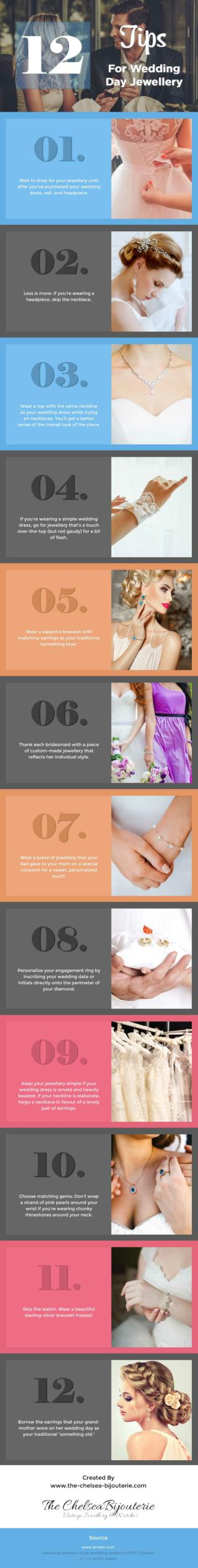 12 Tips For Wedding Day Jewellery